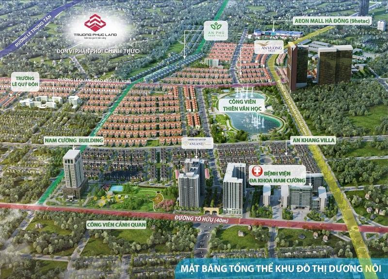Dự án khu đô thị Dương Nội của tập đoàn Nam Cường