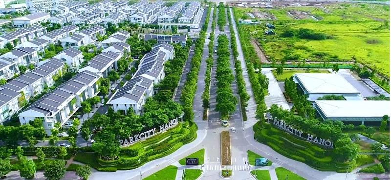 Ảnh 2: Tiến độ xây dựng dự án khu đô thị Park City Hà Nội