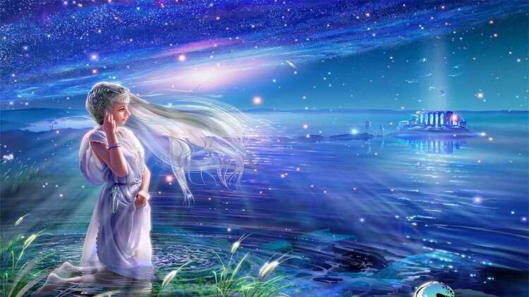 Biểu tượng chòm sao Xử Nữ là một cô trinh nữ