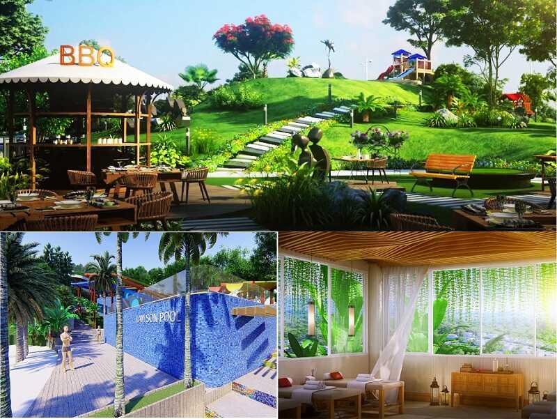 Không gian sống xanh tại Ivory and Resort