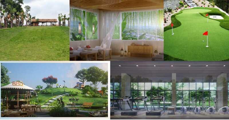 Tiện ích cao cấp tại dự án Ivory Villas & Resort Hòa Bình