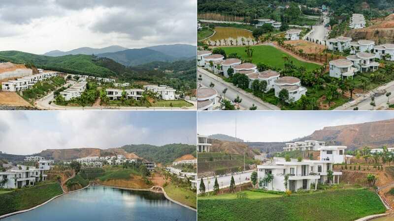 Tiến độ xây dựng dự án Ivory Villas & Resort Hòa Bình