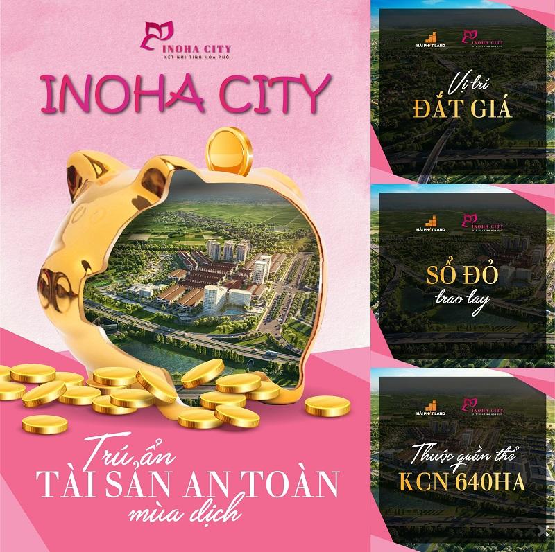 """Inoha City - Đất giá """"tỉnh"""" sở hữu hộ khẩu """"thủ đô"""""""