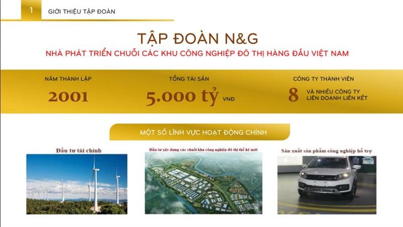 Chủ đầu tư dự án Inoha City là tập đoàn N & G
