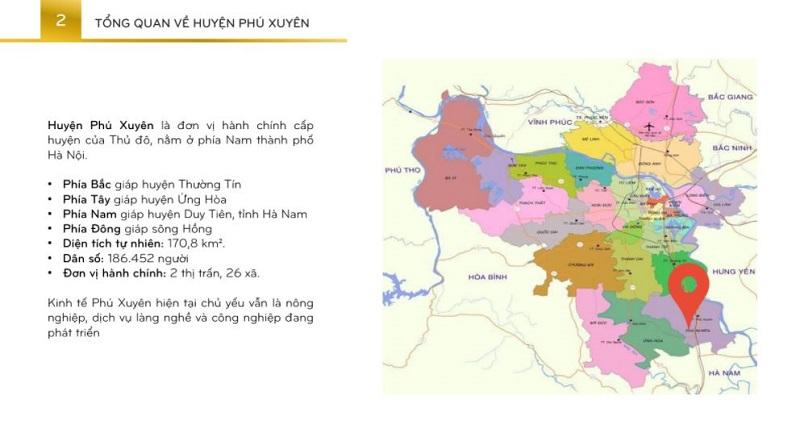Bản đồ quy hoạch huyện Phú Xuyên - Hà Nội