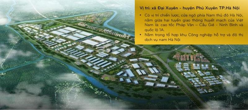 Vị trí nằm ở: Xã Đại Xuyên - huyện Phú Xuyên - Hà Nội