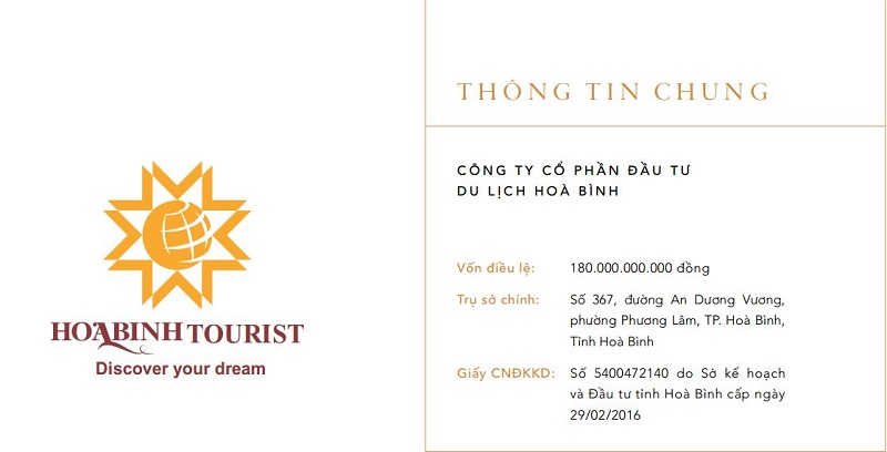 chủ đầu tư dự án Cullinan Hoa Binh Resort là công ty Du Lịch Hòa Binh