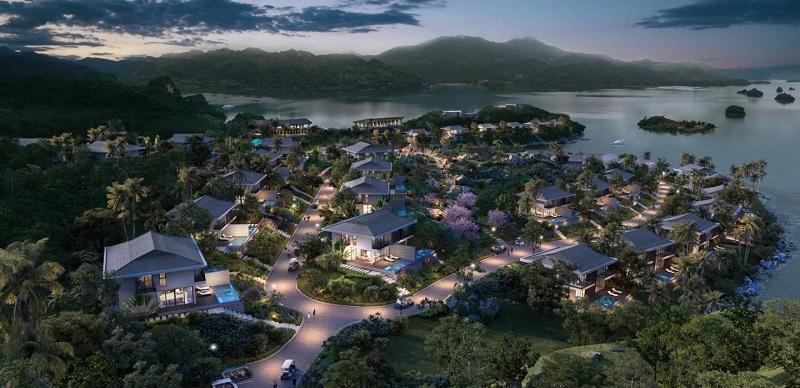 Dự án Cullinan Hòa Bình Resort sẽ ra mắt 32 lô biệt thự song lập đợt đầu mở bán