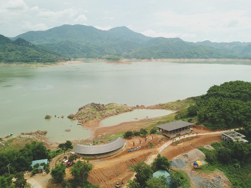 Tiến độ xây dựng dự án Cullinan Hòa Bình Resort