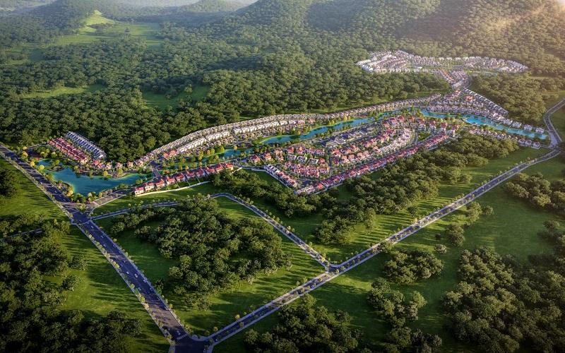 khu đô thị Xanh Villas Resort Hòa Lạc