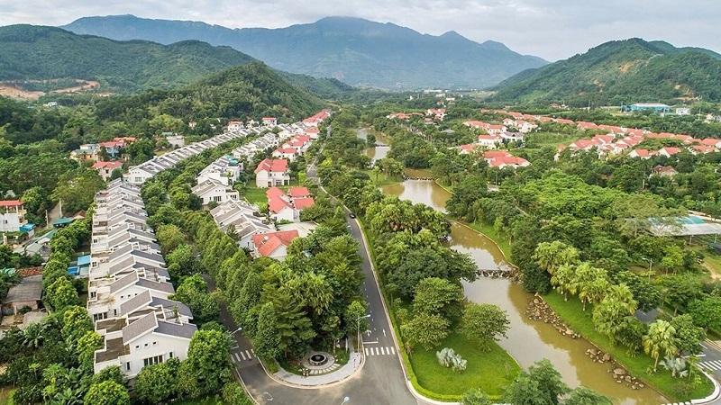 Quy hoạch Khu B Xanh Villas Resort