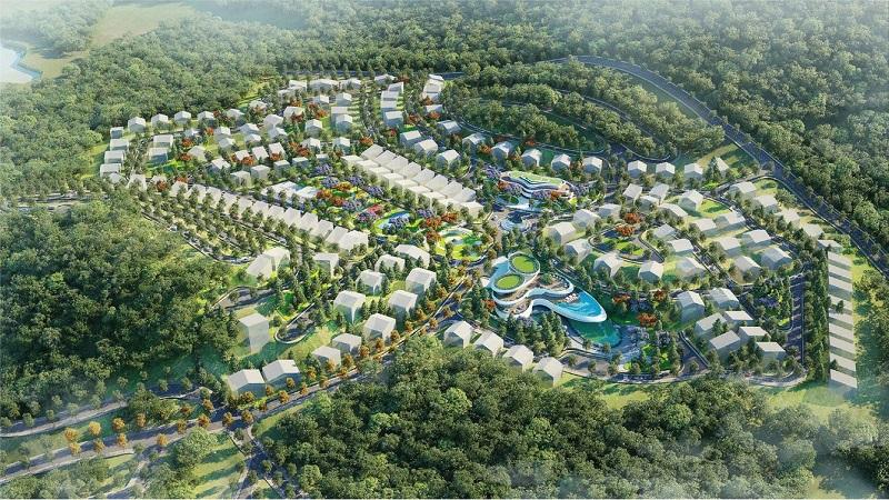 Mặt bằng quy hoạch Khu C Xanh Villas Resort