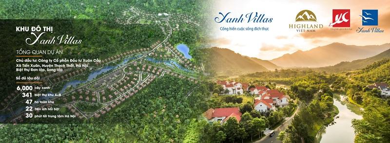 Liên hệ mua biệt thự nghỉ dưỡng ven đô - Xanh Villas Resort Hòa Lạc