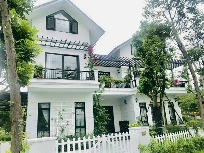 Mẫu thiết kế biệt thự Xanh Villas Resort