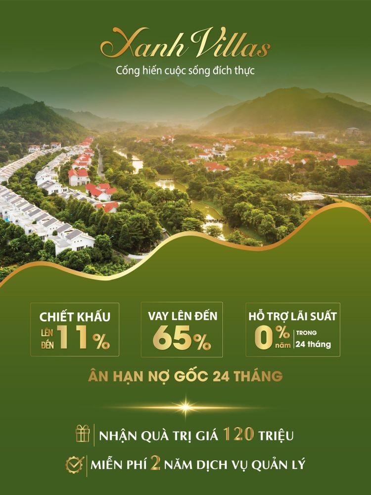Chính sách mua biệt thự Xanh Villas Resort mới nhất