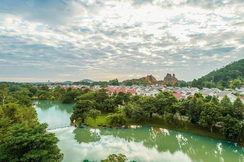 Hình ảnh cập nhật tiến độ khu nghỉ dưỡng Xanh Villas Resort