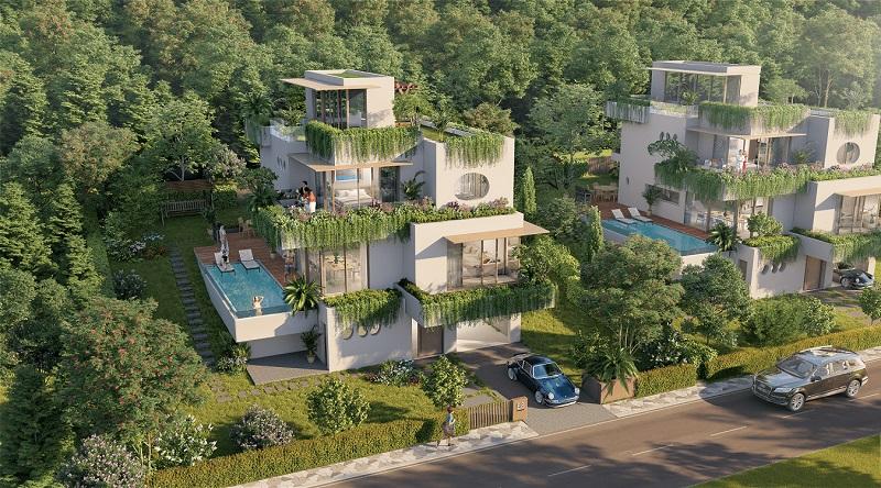 Mẫu thiết kế biệt thự Babylon Villa Cốt Dương