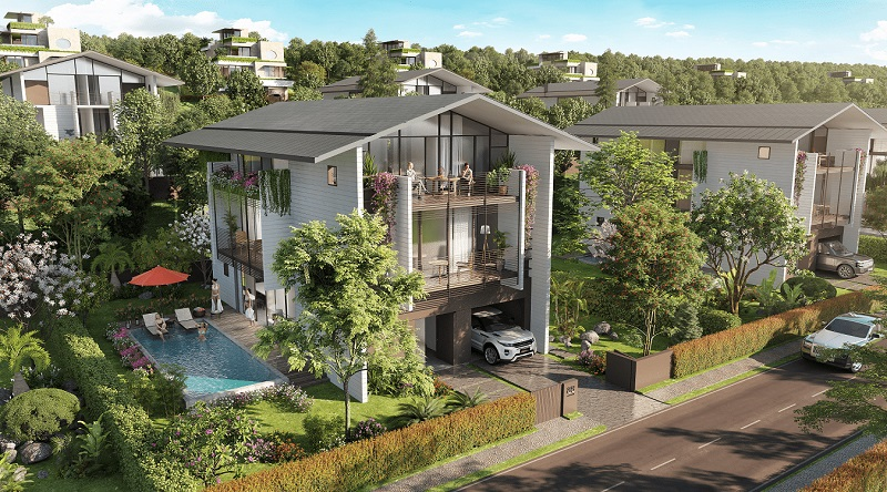 Mẫu thiết kế biệt thự BelvedereVilla tại Legacy Hill Hòa Bình