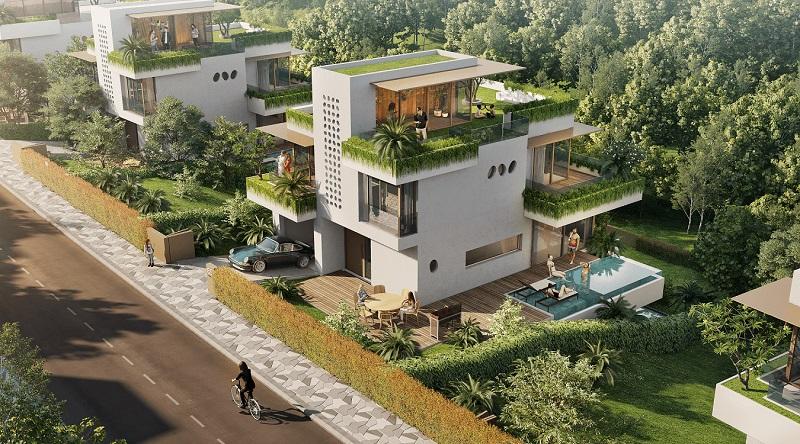 Mẫu thiết kế biệt thự Babylon Villa Cốt Âm tại