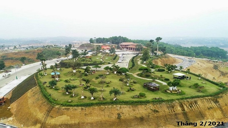 Hình ảnh mới nhất về khu nghỉ dưỡng Legacy Hill Hòa Bình