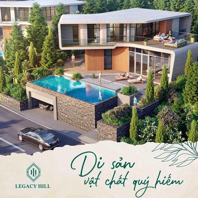 Legacy Hill - Di sản vật chất quý hiếm