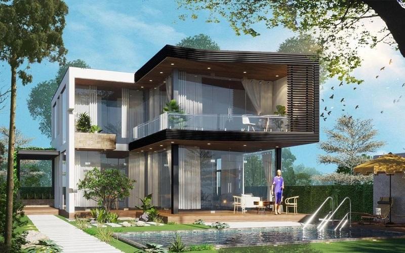 Mẫu thiết kế biệt thự đơn lập Panorama Hill Hòa Bình