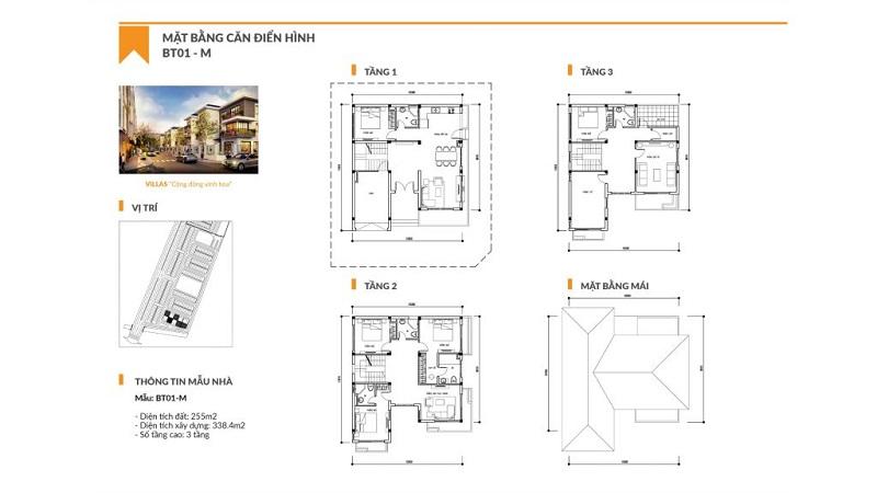Thiết kế chi tiết biệt thự TT Phố Nối Hưng Yên